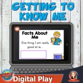 Getting to Know You Digital Boom Cards for Distance Learning