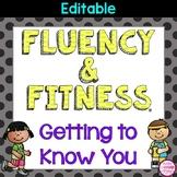 Getting to Know You Fluency & Fitness Brain Breaks Bundle