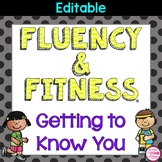Getting to Know You Fluency & Fitness Brain Breaks Bundle