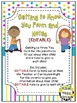 Getting to Know You Form & Card (EDITABLE) ~ Bright Polka Dots & Stripes
