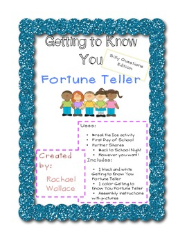 Getting to Know You Fortune Teller - Silly Questions Edition