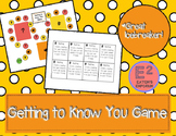 Getting to Know You Game