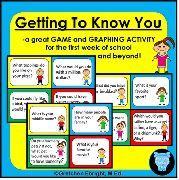 Getting to Know You Game and Graphing Activity