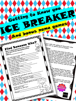 Getting to Know You Ice Breaker