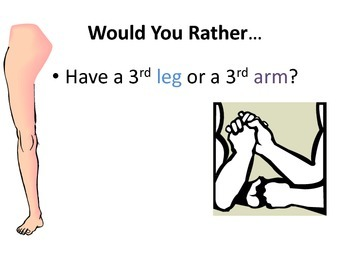 """Getting to Know You Icebreaker """"Would You Rather"""" Powerpoint Activity"""