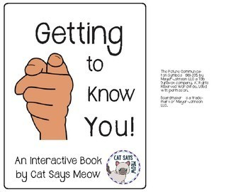 Getting to Know You Interactive Book for Personal Questions
