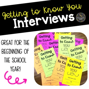 Getting to Know You Interviews