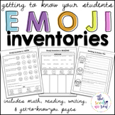 Interest Inventories: Getting to Know You Emoji Theme