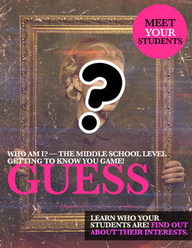 Getting to Know You: Middle School Level Q/A Activity