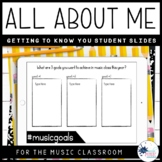 Getting to Know You {Music Class}