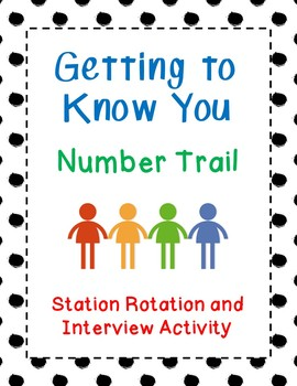 Getting to Know You - Number Trail