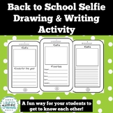 Getting to Know You Selfie / Back to School Activity