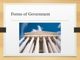 Classifying Governments Power Point