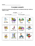 Getting to Know You activity in Spanish