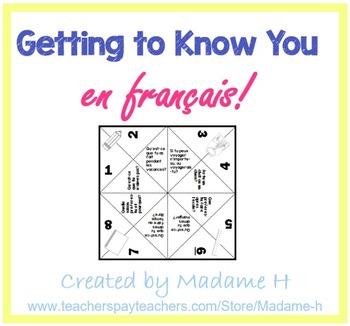 Getting to Know You en français