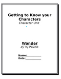 Getting to Know Your Characters - Wonder
