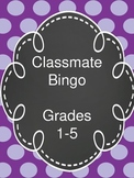 Back to School Getting to Know You Bingo!