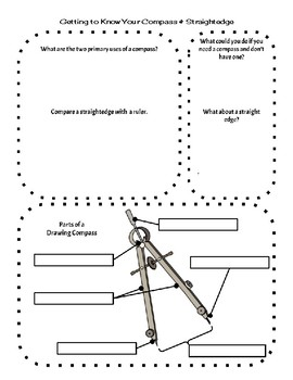 Getting to Know Your Compass and Straightedge   Constructions