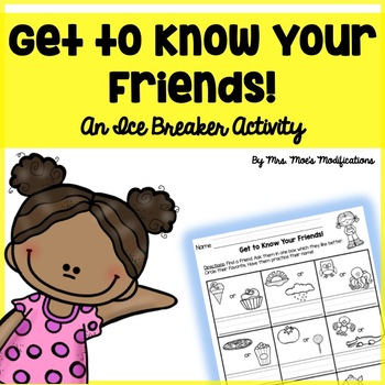 Getting to Know Your Friends- Ice Breaker Activity