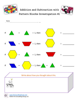 Getting to Know Your Pattern Blocks