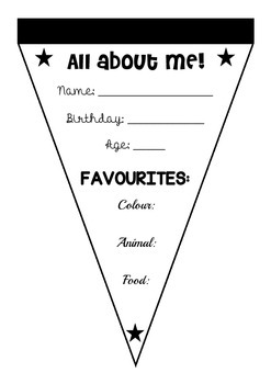 Getting to Know Your Students - Class Bunting