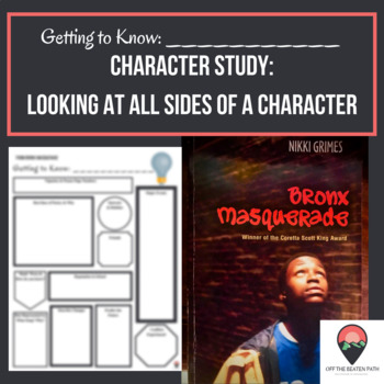 Getting to Know a Character from Bronx Masquerade!