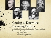 Getting to Know United States History Founding Fathers A Mini Unit