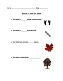Getting to Know the Kindergarten Tree