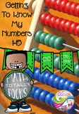 Getting to know my numbers 1-15