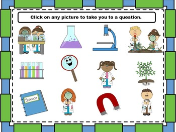 Getting to know you!  Science Themed (editable)