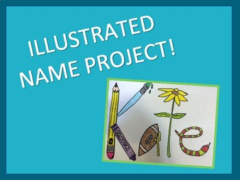 Getting to know you illustrated name project!