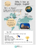 Getting to know you infographic