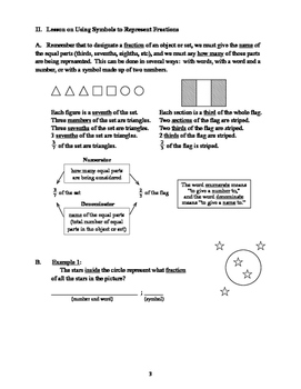 Getting to the CORE of Fractions - Student Book