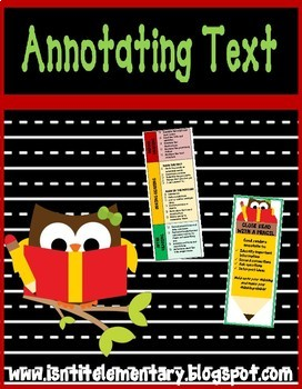 Getting to the Core: Annotating Text Bookmark