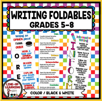 Getting to the Core: Writing Foldables 6-8