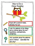 Getting to the Core: How to Do a Close Reading