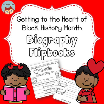Black History Month - Biography Flipbook using Picture Books - February