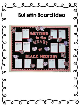 Black History Month Writing and Bulletin Board Set