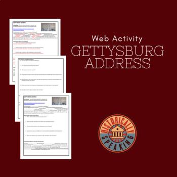 Gettysburg Address:  A Web Activity