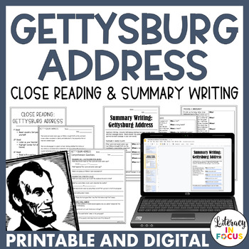 Gettysburg Address Activities