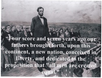 Gettysburg Address: Close Read, Annotation, Evidence,