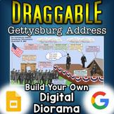 Gettysburg Address - Digital Draggable Diorama