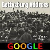 Gettysburg Address - Google Form