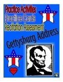 Gettysburg Address Memory Activities