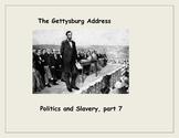 Gettysburg Battle and Address