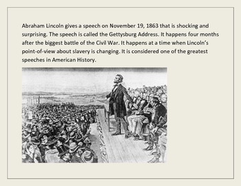 Gettysburg Battle and Address