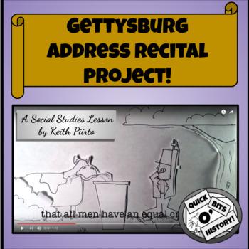 Gettysburg Address Recital Project