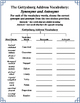 Gettysburg Address Vocabulary and Spelling-Grades 5 & 6 (C