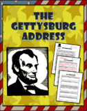 Gettysburg Address by Abraham Lincoln with questions