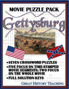 Gettysburg Movie Puzzle Pack